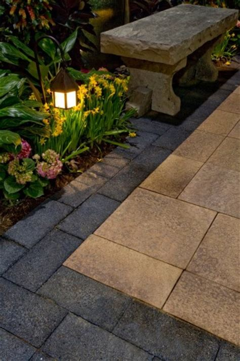 Umbriano Unilock - umbriano paver patio with series3000 accent by unilock