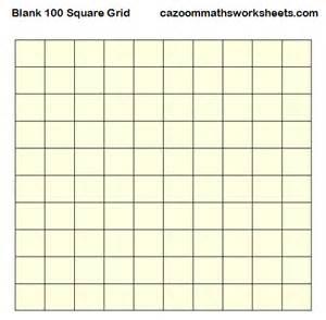 Free Printable 100 Square Grid