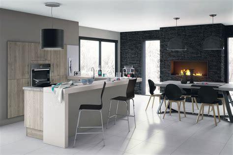 cuisine salon idées pour délimiter la cuisine ouverte sur le salon diaporama photo