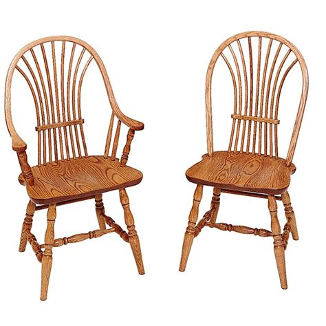wheat back amish dining room chairs