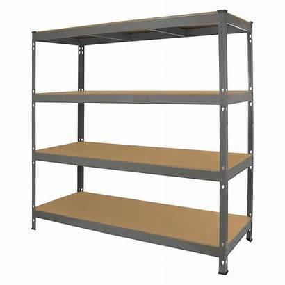 Shelving Duty Heavy Metal Garage Shelves Steel