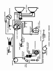 Electrical Wiring Diagram 1939 Chevy  Electrical  Free