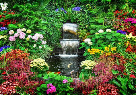 in the garden gardens changed by