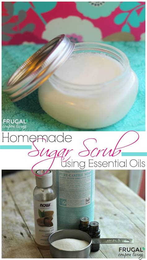 Homemade Sugar Scrub With Essential Oils Homemade Sugar