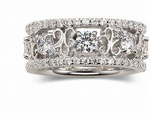 diamonartr cubic zirconia scroll fashion ring jcpenney With jc penny wedding rings