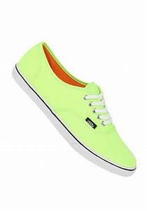 VANS Authentic Lo Pro neon green