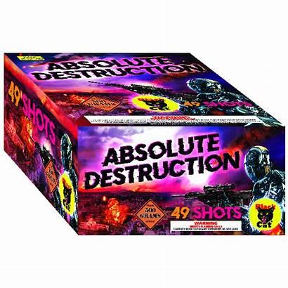 Destruction Absolute Fireworks Multi Shot Gram