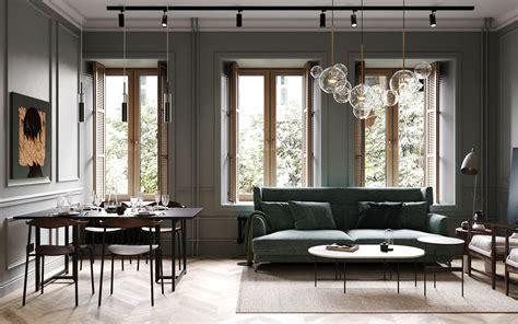 appartement classique chic par cartelle design