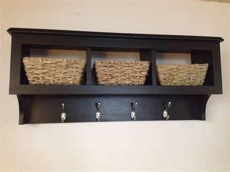 cubby shelf with hooks 36 quot cubby wall coat rack shelf storage organizer with