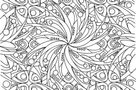 Abstract Art Coloring Pages Free Printable Abstract