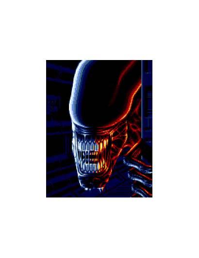 Amiga Loading Alien Graphics Site Alien3 Graphic