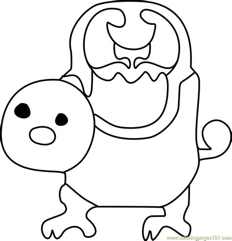 woshua undertale coloring page  undertale coloring
