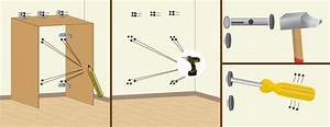 image du site comment fixer un meuble au mur comment fixer With comment fixer un meuble au mur