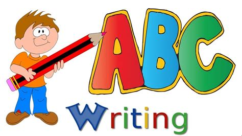 abc writing alphabet writing capital letters upper