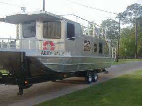 Homemade Aluminum Fishing Boat by 2011 Homemade Aluminum Houseboat House Boat For Sale In