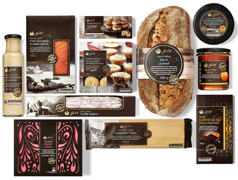 woolworths gold on packaging of the creative package design gallery