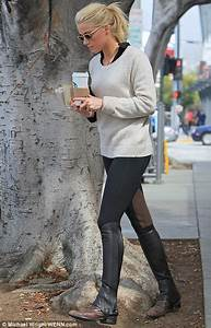 Sheu0026#39;s a cool rider! Amber Heard dons equestrian chic as she steps out in jodhpurs and half chaps ...