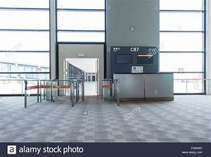 boarding gate at Pudong international airport of Shanghai ...