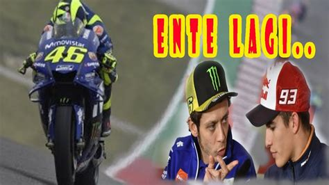 membuat rossi gagal naik podium motogp  youtube