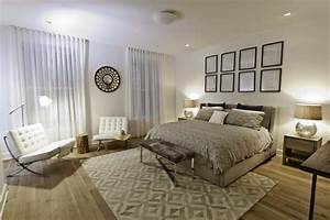 The bold and the beautiful successful rug placement for Area rug for bedroom