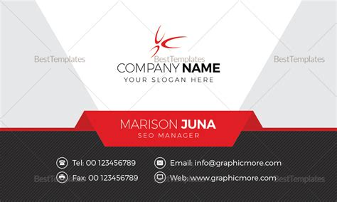 manager business card design template  word psd publisher