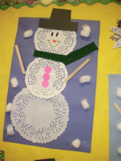 snowman craft kindergarten 297 | 2a897f9b0728cc8bc130781bde0be965