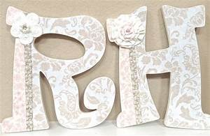 nursery letters baby name art custom nursery room decor any With custom name letters for nursery