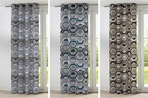 Rideaux Prêts à Poser : rideaux sur mesure profitez du superbe tissu double vue ~ Teatrodelosmanantiales.com Idées de Décoration