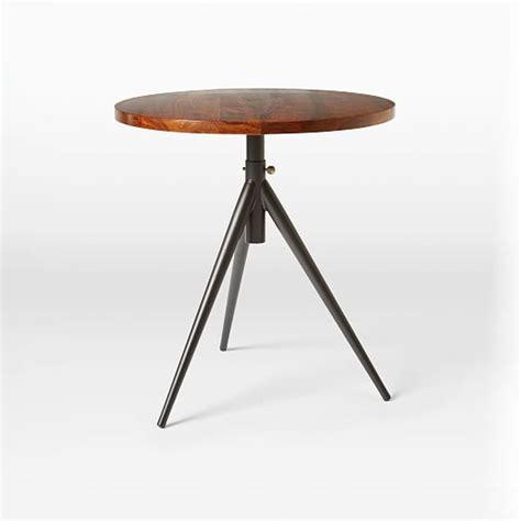 Round Adjustable Bistro Table   west elm