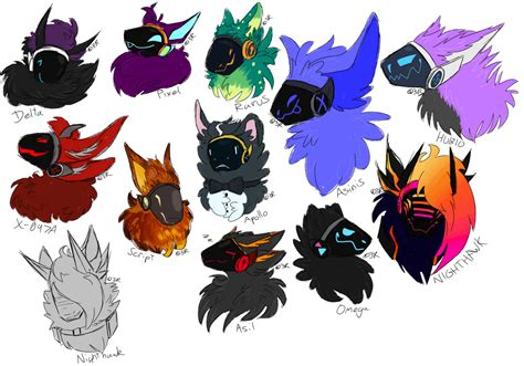 From my research i know that it's like a cybrog that you i am inspired. PROTOGEN HEADSHOT REQUESTS 1 by DwaginIs3Rr0r418 on DeviantArt in 2020 | Cute drawings ...