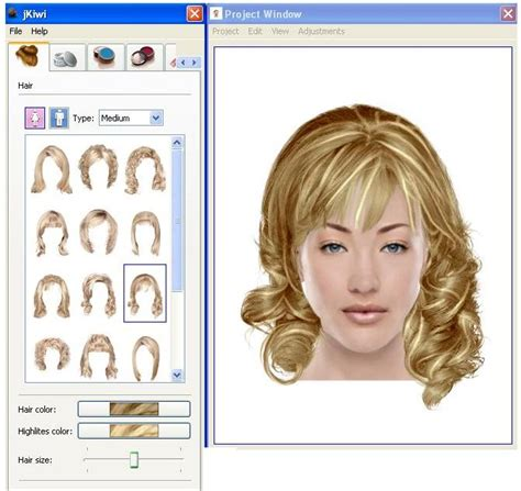 HD wallpapers virtual hairstyle software free download