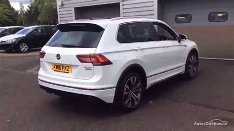 volkswagen tiguan white 2016 volkswagen tiguan r line tdi bmt 4motion dsg white 2016