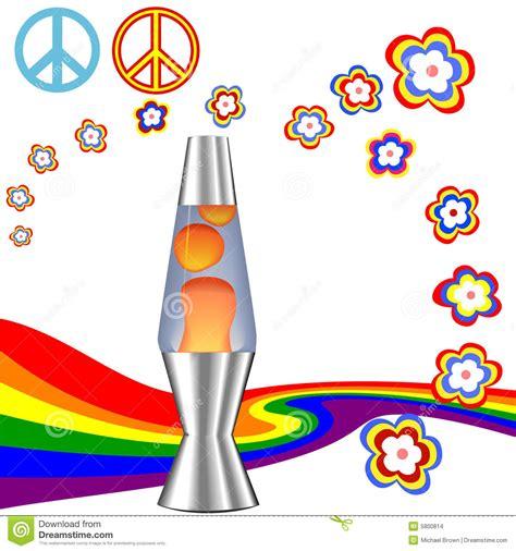 colormax lava l rainbow kit psichedelico hippie degli anni 70 degli anni 60