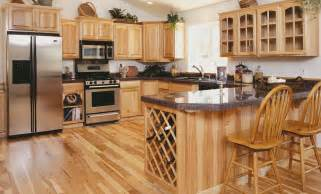 hickory wood cabinets kitchens hickory kitchen cabinets hac0 4200
