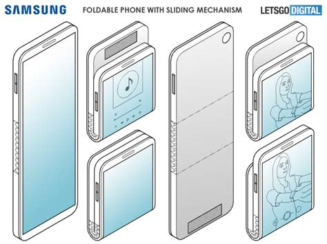 samsung patent reveals galaxy fold 2 could feature a clamshell design 91mobiles