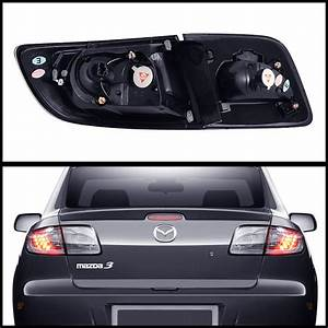 04-08 Mazda 3 Sedan Euro Style Led Tail Lights