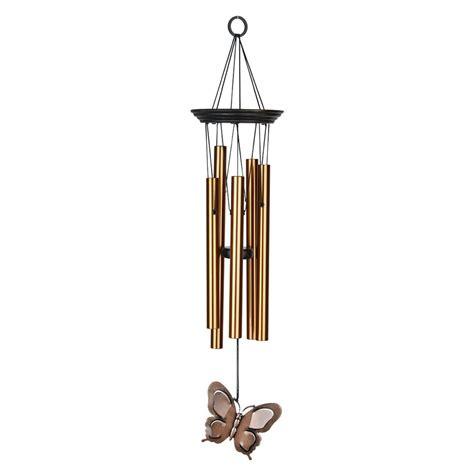 butterfly wind chimes woodstock chimes bfc signature my butterfly wind chimes atg stores