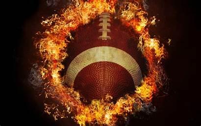 Football Fire 4k American Nfl Ball Wallpapers