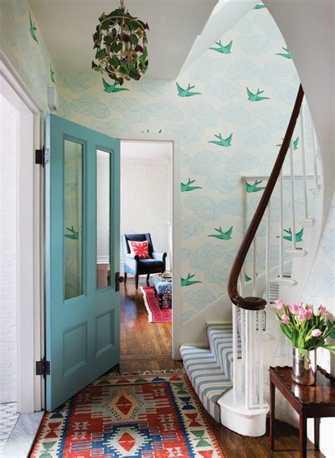 Wallpaper For Entryway by Wallpaper In The Entry Foyer Yay Or Nay