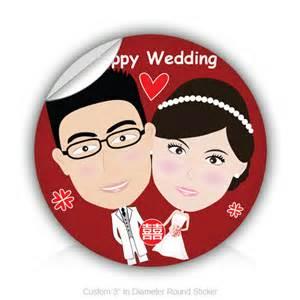 wedding stickers stickers happy wedding 3 quot in diameter sticker