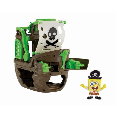Barco Pirata Toys R Us by Roman Fisher Price Imaginext Spongebob Pirate Ship