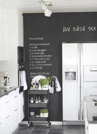 peinture cuisine blanche peinture tableau noir pour colorer une cuisine blanche