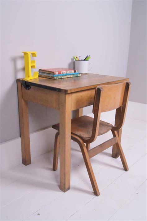 school desk for children s vintage single school desk with chalkboard lid