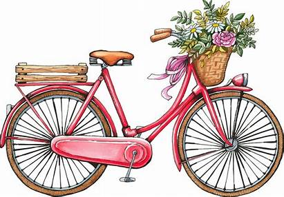 Bicycle Silhouette Clipart Transparent Bike Clip Watercolor