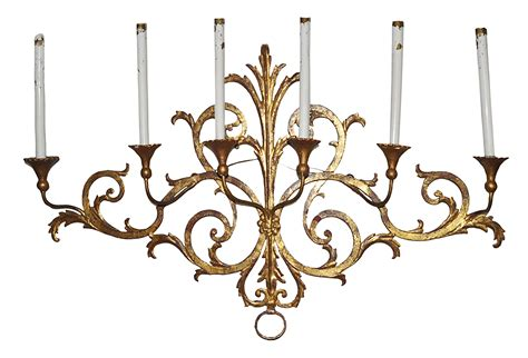 2 light outdoor wall sconce antique gold leaf candle wall sconce omero home