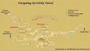 Korroloka Tunnel/Maps FFXIclopedia Fandom powered by Wikia