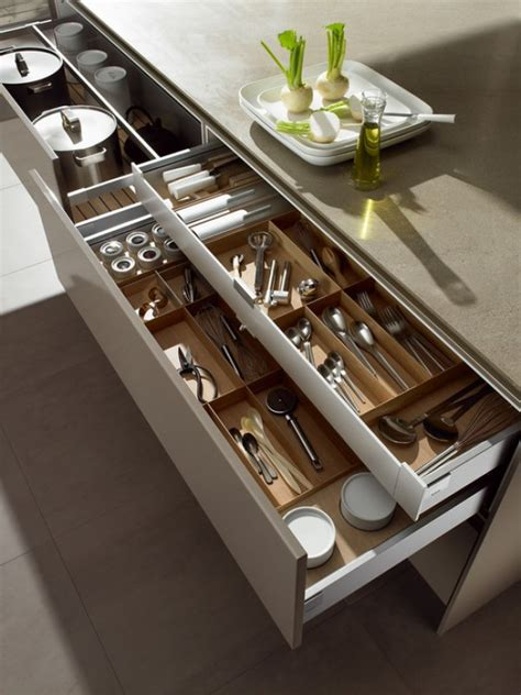Kitchen Cabinet Island - 15 drawer ideas to help you organize your kitchen eatwell101
