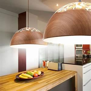 Wohnzimmer Lampe Holz : decken lampe holz pendel leuchte runde esszimmer ~ Lateststills.com Haus und Dekorationen