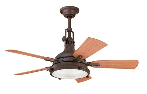 outdoor ceiling fans with remote control kichler 310101tzp tannery bronze powder coat 44 quot outdoor