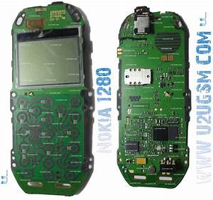 Nokia 1280 Full Pcb Diagram Mother Board